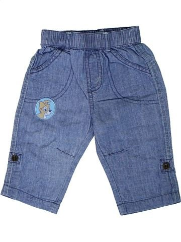 Pantalón niño GEORGE azul 6 meses verano #1310344_1