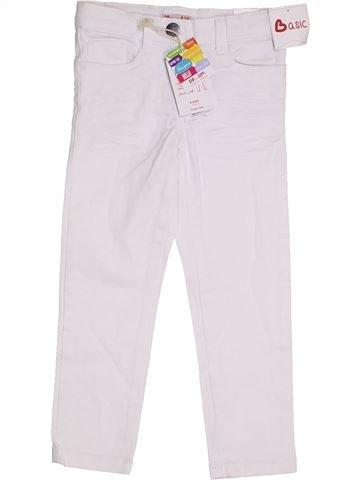 Pantalón niña DPAM blanco 4 años invierno #1310466_1