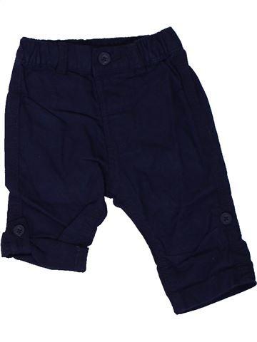 Pantalón niño GEORGE negro 3 meses verano #1310491_1