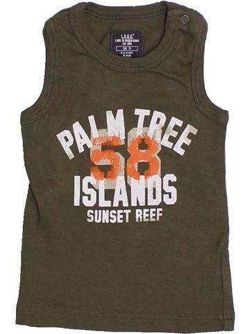 Top - Camiseta de tirantes niño H&M marrón 12 meses verano #1310518_1