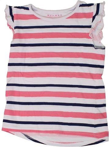 Camiseta sin mangas niña NUTMEG rosa 7 años verano #1310604_1