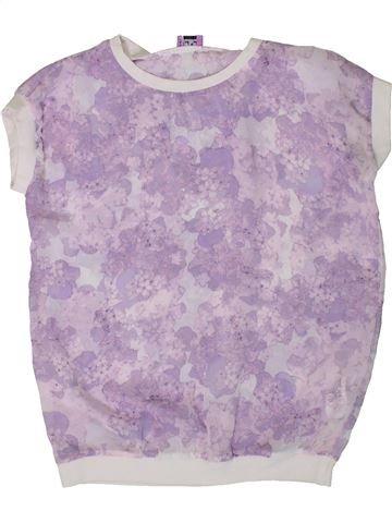 Blusa de manga corta niña F&F violeta 9 años verano #1310627_1