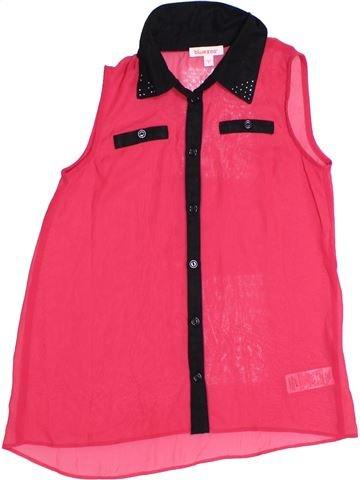 Blusa de manga corta niña BLUEZOO rosa 9 años verano #1310778_1