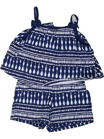 Combinación corta niña F&F azul 4 años verano #1310782_1