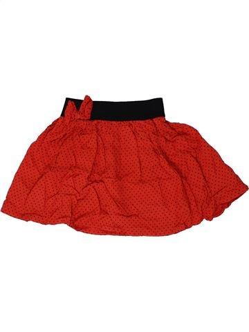 Falda niña F&F rojo 4 años verano #1310822_1