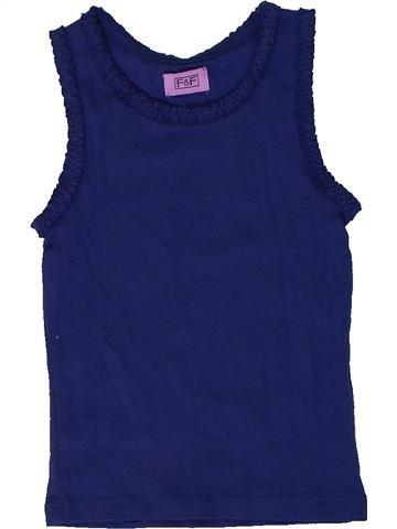 Camiseta sin mangas niña F&F azul 2 años verano #1310879_1