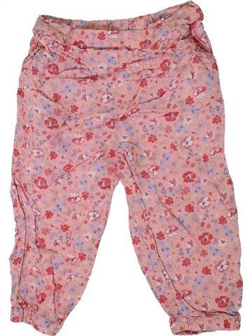 Pantalón niña MATALAN rosa 18 meses verano #1311031_1