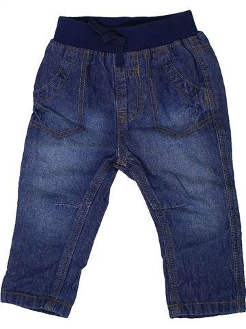 Pantalón niño GEORGE azul 6 meses verano #1311049_1