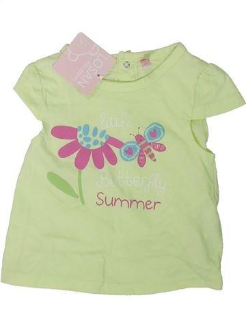 Camiseta de manga corta niña LOSAN verde 6 meses verano #1311055_1