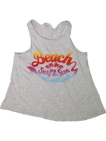 Camiseta sin mangas niña H&M gris 12 años verano #1311096_1