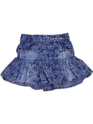 Falda niña GEMO azul 4 años verano #1311209_1