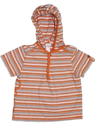 Camiseta de manga corta niño OKAIDI rosa 18 meses verano #1311229_1