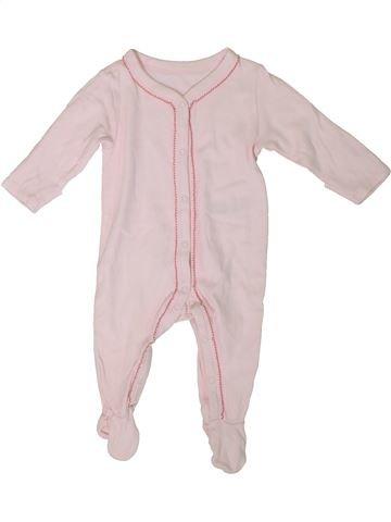 Pijama de 1 pieza niña MARKS & SPENCER rosa 3 meses verano #1311271_1