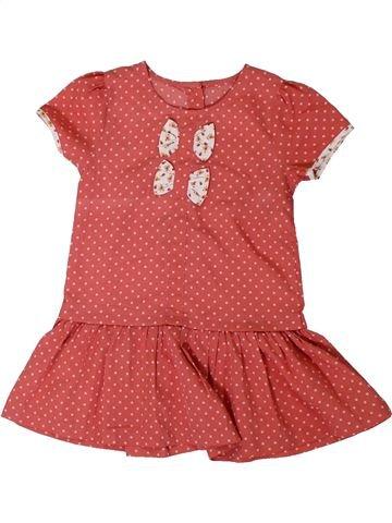 Vestido niña MATALAN rojo 3 años verano #1311279_1