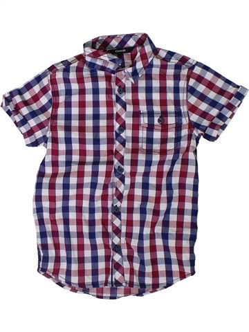 Camisa de manga corta niño GEORGE violeta 7 años verano #1311290_1