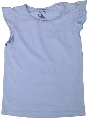 Camiseta de manga corta niña TU azul 9 años verano #1311371_1