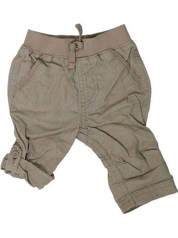 Pantalón niño GEORGE marrón 3 meses verano #1311404_1