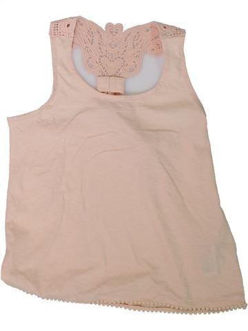 Camiseta sin mangas niña MARKS & SPENCER beige 9 años verano #1311409_1