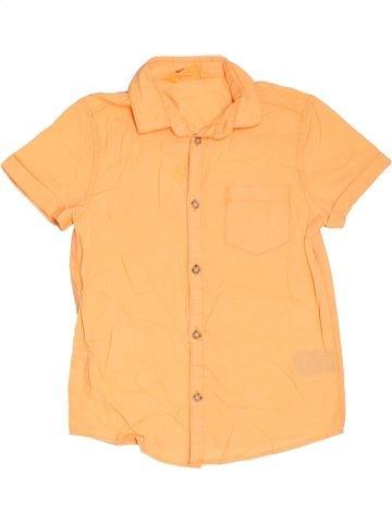 Camisa de manga corta niño H&M naranja 7 años verano #1311418_1