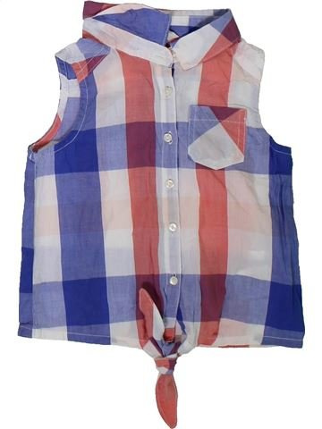 Blusa de manga corta niña H&M gris 3 años verano #1311428_1