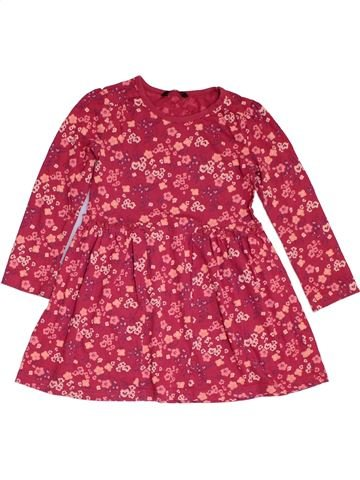 Vestido niña GEORGE rosa 5 años invierno #1311501_1