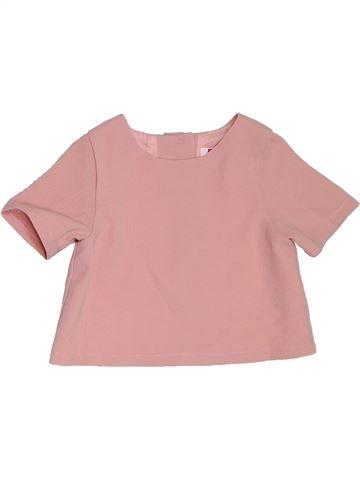 Blusa de manga corta niña MINI rosa 2 años verano #1311570_1