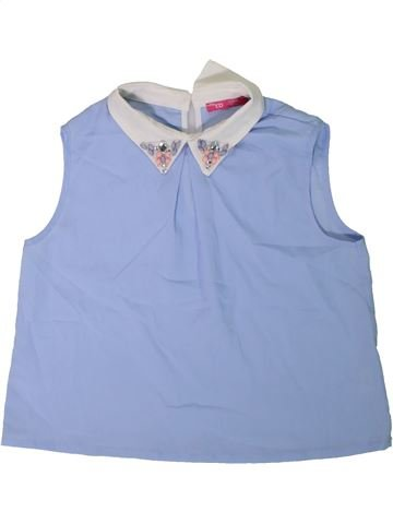 Blusa de manga corta niña PRIMARK azul 12 años verano #1311604_1
