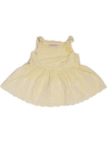 T-shirt sans manches fille MONSOON jaune 12 mois été #1311655_1
