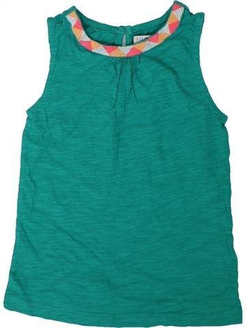 Camiseta sin mangas niña MARKS & SPENCER verde 7 años verano #1311688_1