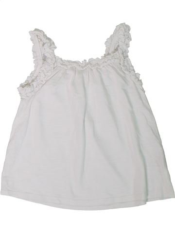 Camiseta sin mangas niña MATALAN blanco 5 años verano #1311718_1