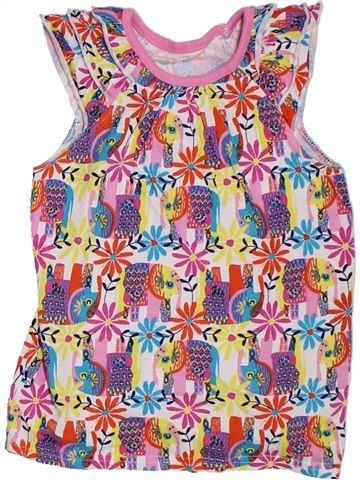 Camiseta de manga corta niña GEORGE rosa 6 años verano #1311719_1