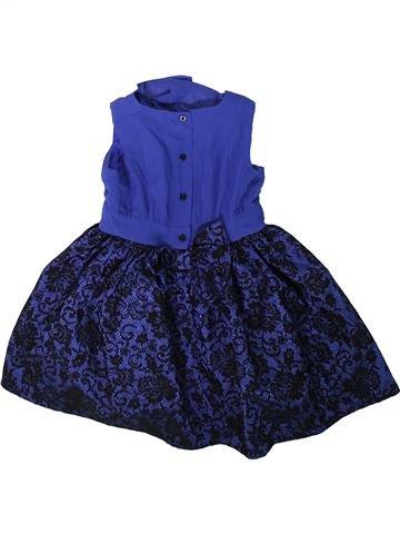 Vestido niña BABYK azul 4 años verano #1311749_1