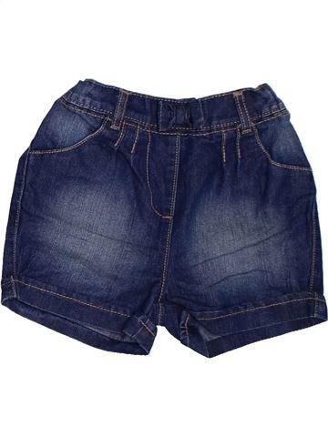 Short-Bermudas niña GEORGE azul 2 años verano #1311756_1