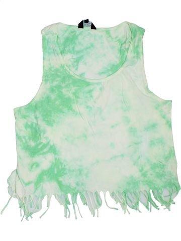 Camiseta sin mangas niña NEW LOOK blanco 14 años verano #1311886_1