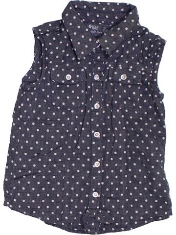 Blusa de manga corta niña PRIMARK azul 2 años verano #1311932_1