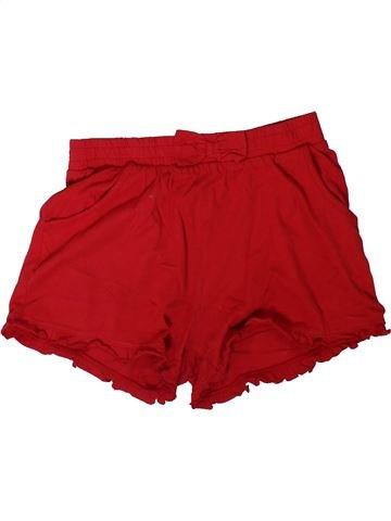Short-Bermudas niña TU rojo 9 años verano #1311957_1