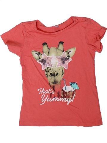 Camiseta de manga corta niña DOPODOPO rosa 3 años verano #1312000_1