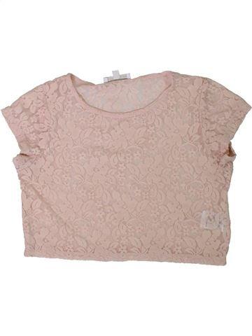 T-shirt manches courtes fille CHARLES VÖGELE gris 12 ans été #1312080_1
