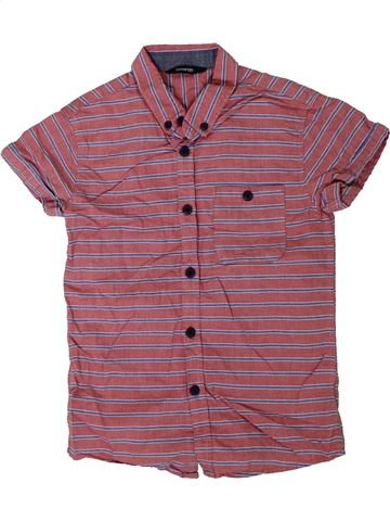Camisa de manga corta niño GEORGE violeta 7 años verano #1312092_1
