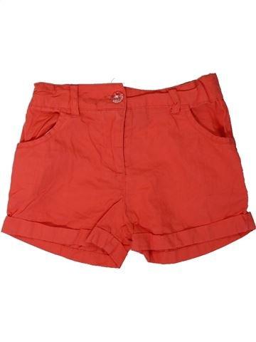 Short-Bermudas niña PRIMARK rojo 5 años verano #1312168_1