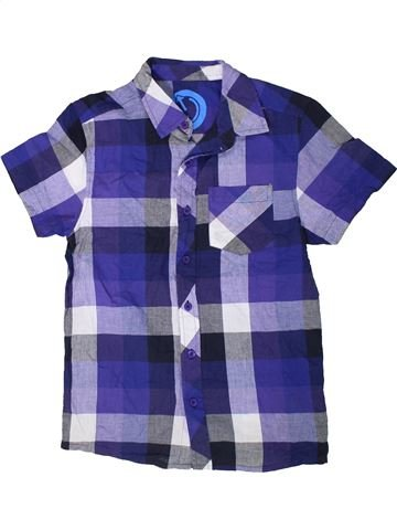 Chemise manches courtes garçon CHEROKEE bleu 11 ans été #1312187_1