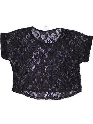 Camiseta de manga corta niña KYLIE negro 13 años verano #1312438_1