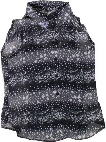 Blusa de manga corta niña TAMMY gris 11 años verano #1312650_1