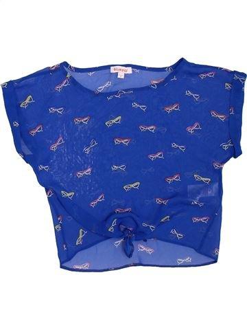 Blusa de manga corta niña BLUEZOO azul 8 años verano #1312974_1