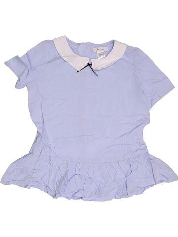 Blusa de manga corta niña LA REDOUTE CRÉATION gris 12 años verano #1313639_1