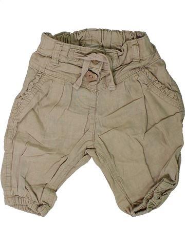 Pantalon fille NEXT beige 9 mois été #1313841_1