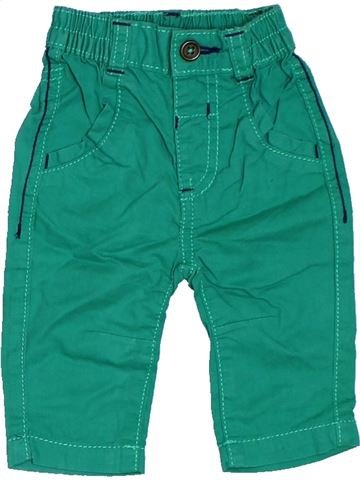 Pantalon garçon GEORGE vert naissance été #1314748_1