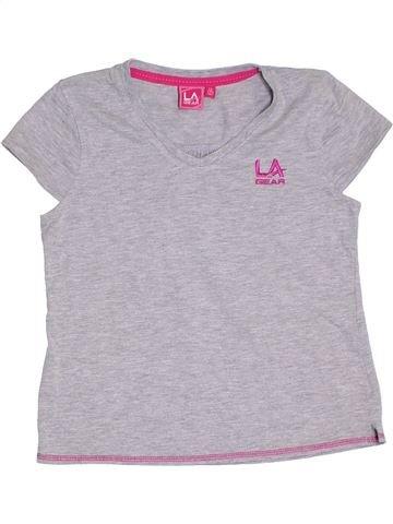 T-shirt manches courtes fille LA GEAR gris 13 ans été #1315459_1