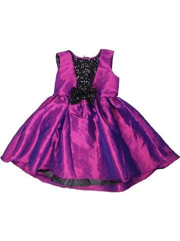 Robe fille LADYBIRD violet 7 ans été #1316264_1