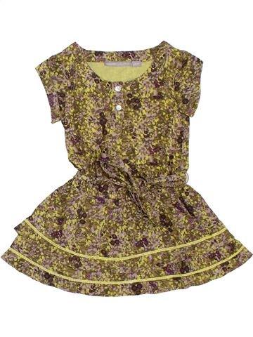 Vestido niña 3 SUISSES marrón 2 años verano #1321231_1